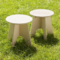 Leave Me Outdoors -Outdoor Stools Set